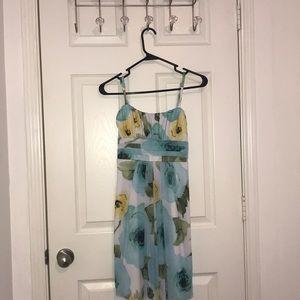 Floral teens dress